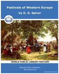 Festivals of Western Europe, Score Etc F... by Spicer, D. G.