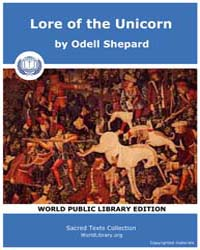 Lore of the Unicorn, Score Etc Lou by Shepard, Odell