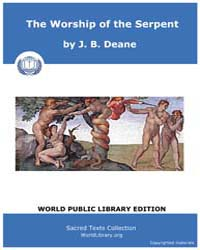 The Worship of the Serpent, Score Etc Wo... by Deane, J. B.