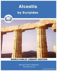 Alcestis, Score Eurip Alcestis by Euripides