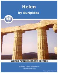 Helen, Score Eurip Helen by Euripides