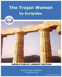 The Trojan Women, Score Eurip Troj W by Euripides
