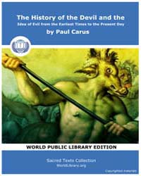 The History of the Devil and the Idea of... by Carus, Paul