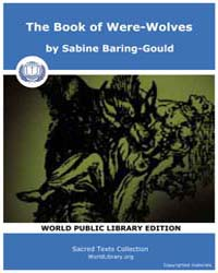The Book of Were-wolves, Score Goth Bow by Baring-gould, Sabine
