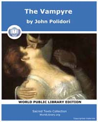 The Vampyre by Polidori, John