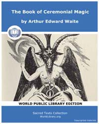 The Book of Ceremonial Magic, Score Grim... by Waite, Arthur Edward
