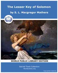 The Lesser Key of Solomon, Score Grim Lk... by Mathers, S. L. MacGregor
