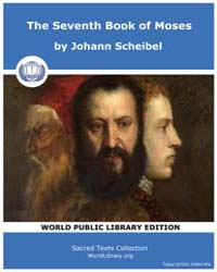 The Seventh Book of Moses, Score Grim Mo... by Scheibel, Johann
