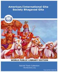 American/International Gita Society Bhag... by Sacred Texts