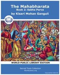 The Mahabharata Book 2 : Sabha Parva, Sc... by Ganguli, Kisari Mohan
