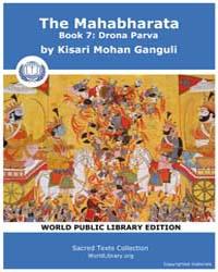 The Mahabharata Book 7 : Drona Parva, Sc... by Ganguli, Kisari Mohan