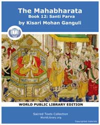 The Mahabharata Book 12 : Santi Parva, S... by Ganguli, Kisari Mohan