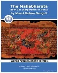 The Mahabharata Book 18 : Svargarohanika... by Ganguli, Kisari Mohan