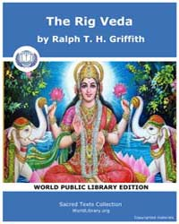 The Rig Veda, Score Hin Rigveda by Griffith, Ralph T. H.