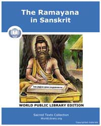 The Ramayana in Sanskrit, Score Hin Rys by Sacred Texts