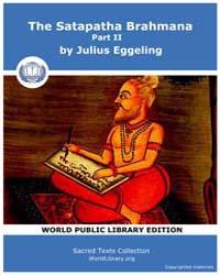 Satapatha Brahmana, Part Ii, Score Hin S... by Eggeling, Julius