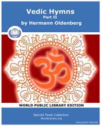 Vedic Hymns, Part Ii, Score Hin Sbe46 Volume Vol. 46 by Oldenberg, Hermann