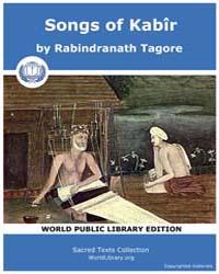 Songs of Kabîr, Score Hin Sok by Tagore, Rabindranath