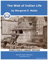 The Web of Indian Life, Score Hin Wil by Noble, Margaret E.