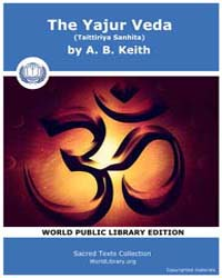 The Yajur Veda Taittiriya Sanhita, Score... by Keith, A. B.