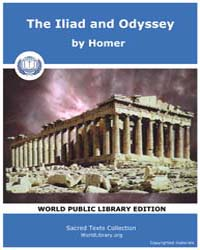 The Iliad and Odyssey, Score Homer Greek by Homer