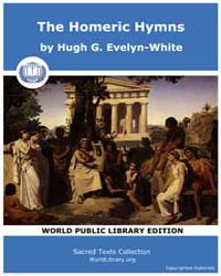 The Homeric Hymns, Score Homer Hymns by Evelyn-white, Hugh G.