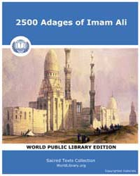 2500 Adages of Imam Ali, Score Adg by Sacred Texts