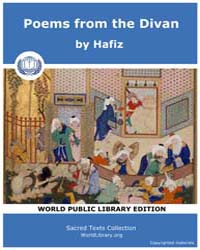Poems from the Divan, Score Hafiz by Hafiz