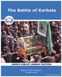 The Battle of Karbala, Score Hus by Sacred Texts