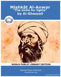 Mishkât Al-anwar the Niche for Lights, S... Volume Vol. XIX by Al-ghazzali