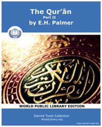 The Qurân, Part Ii, Score Sbe09 Volume Vol.9 by Palmer, E. H.
