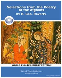 Selections from the Poetry of the Afghan... by Raverty, H. Geo.