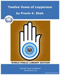 Twelve Vows of Layperson, Score Jai 12Vo... by Shah, Pravin K.