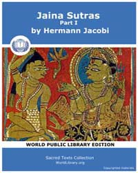 Jaina Sutras, Part I, Score Jai Sbe22 Volume Vol.22 by Jacobi, Hermann