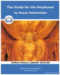 The Guide for the Perplexed, Score Jud G... by Maimonides, Moses