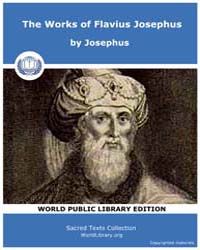 The Works of Flavius Josephus, Score Jud... by Josephus