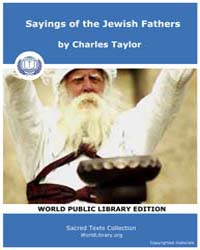 Sayings of the Jewish Fathers, Score Jud... by Taylor, Charles