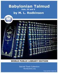 Babylonian Talmud, Volume IX and X, Scor... by Rodkinson, M. L.