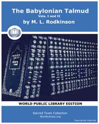 The Babylonian Talmud, Volume I and Ii, ... by Rodkinson, M. L.