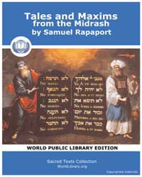 Tales and Maxims from the Midrash by Rapaport, Samuel