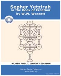 Sepher Yetzirah or the Book of Creation,... by Wescott, W. W.