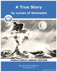 A True Story, Score Luc Ture by Samosata, Lucian