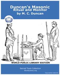 Duncan's Masonic Ritual and Monitor, Sco... by Duncan, M. C.