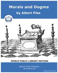 Morals and Dogma, Score Mas MD by Pike, Albert