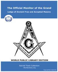 The Official Monitor of the Grand Lodge ... by Gayle Printing Co.