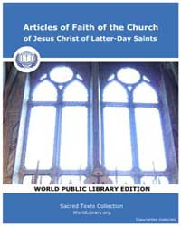 Articles of Faith of the Church of Jesus... by Classic Sacred Texts