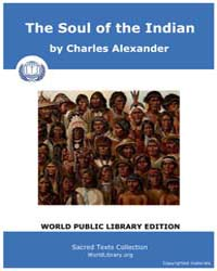 The Soul of the Indian by Alexander, Charles