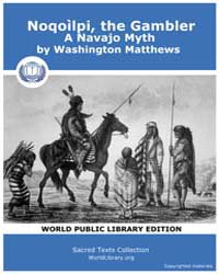 Noqoìlpi, the Gambler, a Navajo Myth Volume II by Matthews, Washington