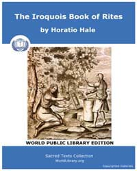 The Iroquois Book of Rites, Score Nam Ib... by Hale, Horatio