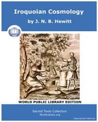 Iroquoian Cosmology, Score Nam Irc by Hewitt, J. N. B.